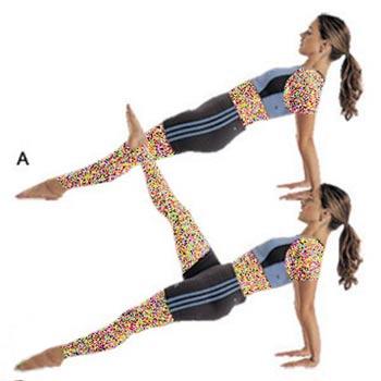 پیلاتس,تقویت عضلات شکم و باسن,تمرینات پیلاتس