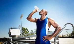 کم آبی در ورزش