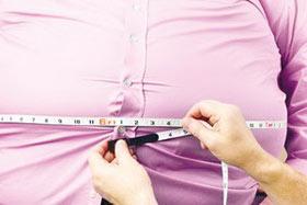 درمان چاقی شکم