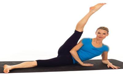 پیلاتس,تقویت عضلات شکم,حرکات کششی