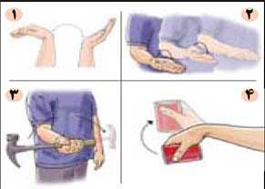 تقویت آرنج,تمرینات ورزشی مخصوص دست,حرکات ورزشی مخصوص دست