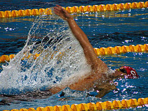 آموزش شنا,شنای کرال پشت,آموزش شنای کرال پشت