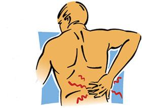 درمان کمردرد,کمردرد در ورزشکاران,علت کمردرد در ورزشکاران