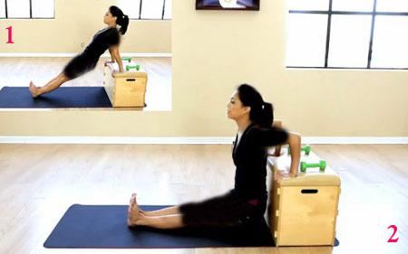 ورزش,تقویت عضلات پشت بازو,بدنسازی