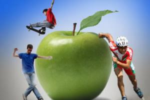 تغذیه در ورزش,تغذیه ورزشكاران,برنامه غذایی برای ورزشكاران