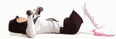 بدنسازی,کار با دمبل,تقویت عضلات بالاتنه