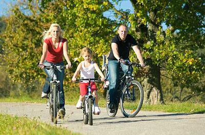 مزایای دوچرخه سواری,فایده های دوچرخه سواری, فواید دوچرخه سواری