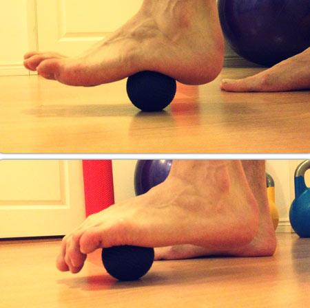 کف پا,ورزش مخصوص کف پا,کشش عضلات کف پا