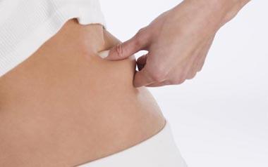 درمان افتادگی پوست,رفع شلی و افتادگی پوست,سفت کردن شکم