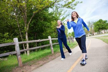 پیاده روی,روش صحیح پیاده روی,فواید پیاده روی