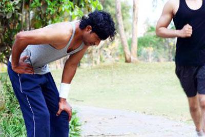 دویدن,درمان درد پهلو در هنگام دویدن, درد پهلو در هنگام دویدن