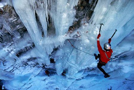 رشته کوهنوردی,یخنوردی,انواع شاخه های رشته کوهنوردی