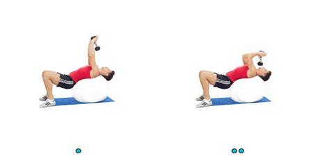 تقویت عضلات سینه, تمرین اسکوات, پهن کردن سینه