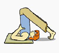 آموزش تمرینات یوگا, حرکت ایستادن روی شانه ها,حرکت ساروانگاسانا