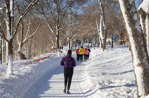 چگونه در هوای سرد بدون خطر ورزش کنیم