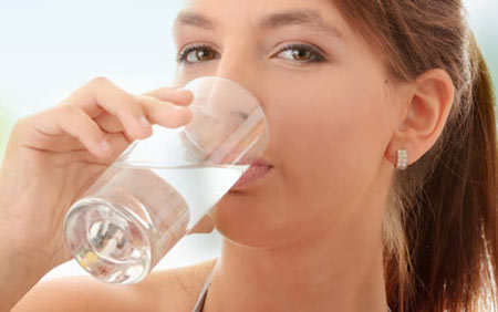 کاهش سایز لباس,کم کردن سایز,نوشیدن آب