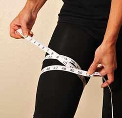 چاقی ران,چگونه چاقی ران را از بین ببریم