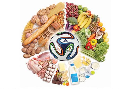 تغذيه فوتباليست,تغذيه ورزشکاران,فوتبال