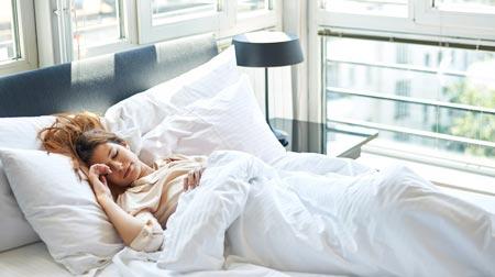 نحوه درست خوابیدن,بهترین وضعیت خوابیدن برای بدن,بهترين وضعيت خوابيدن