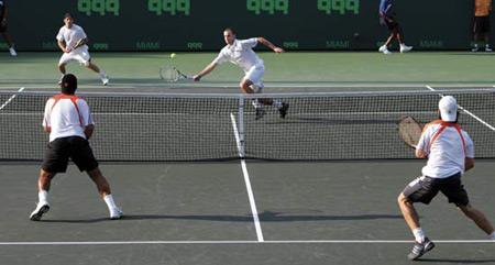 تنیس,بازی دوبل تنیس,مسابقات تنیس