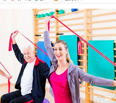 تمرینات ورزشی با کش بدنسازی