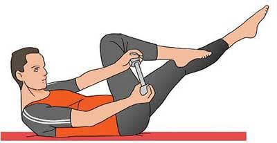 کوچک کردن عضلات شکم