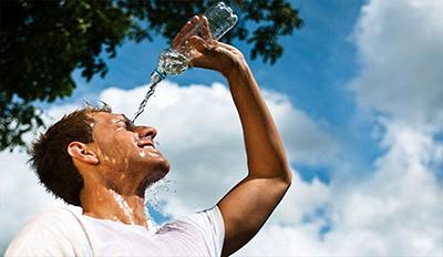 ورزش در هوای گرم