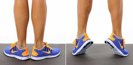 آموزش تقويت عضلات پا
