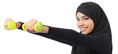 ورزش مناسب ماه رمضان