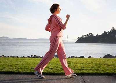 پیاده روی و لاغری