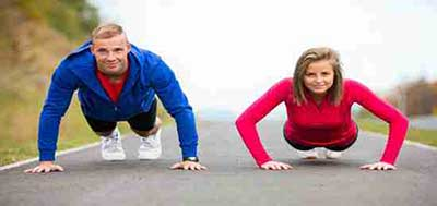 سوزاندن کالری با ورزش