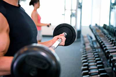تمرین با وزنه برای خانمها