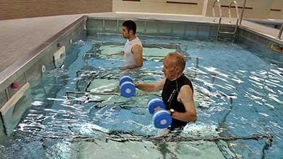 آموزش ورزش در آب