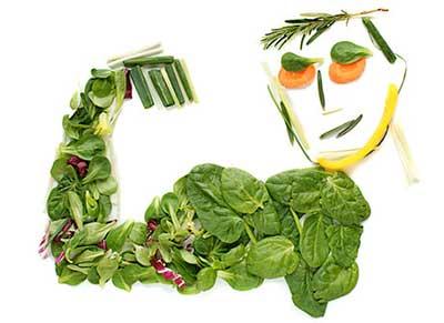 ورزشکار گیاه خوار