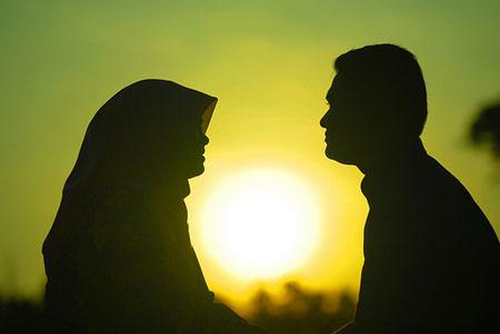 اختلاف مذهبی زن و شوهر,اختلافات مذهبی زن و شوهر,اختلاف دینی زن و شوهر