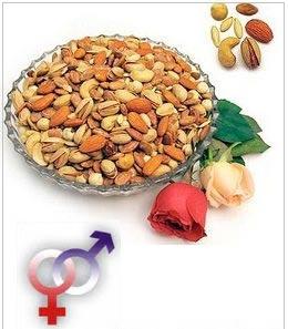 تغذیه مناسب در رابطه جنسی,مواد غذایی برای افزایش میل جنسی