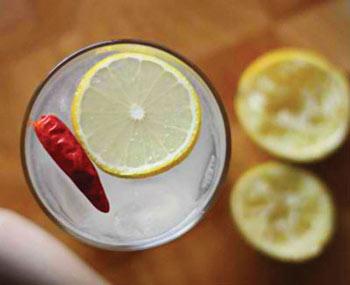 نوشیدنی گیاهی,لیمو فلفلی