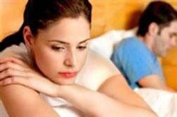 مشکلات جنسی,علائم مشکلات جنسی زنان,علل کم شدن میل جنسی