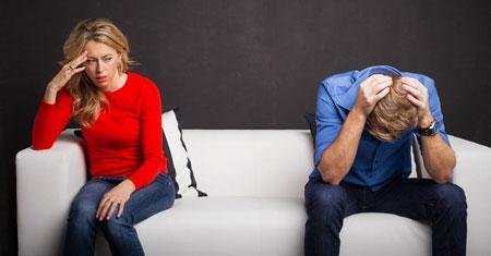 شوهر بی تفاوت,همسر بی احساس,بی تفاوتی شوهر