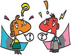 اختلاف سلیقه, مشكلات در زندگی مشترك ,مشاجرات بین زن و مرد
