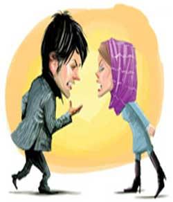 اختلاف زناشویی,زن و شوهر,چگونگی حل اختلاف