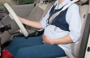 رانندگی در بارداری,مادر باردار