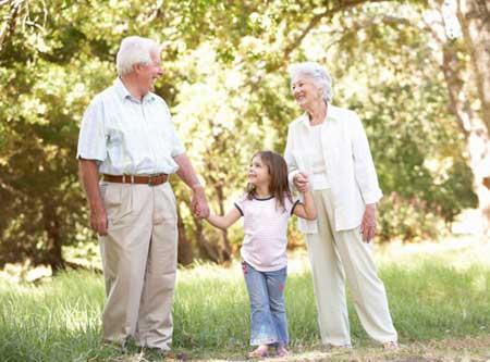 پدربزرگ و مادربزرگ ها ,مهربانی های بی دریغ پدربزرگ و مادربزرگ ها