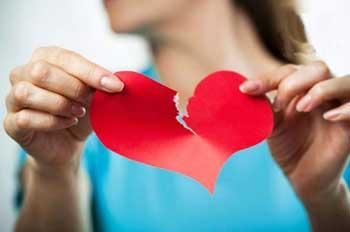 عشق و گرایش های عاطفی,عاشقان شکست خورده,شکست در عشق