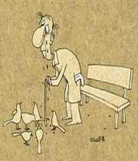 تنهایی سالمندان,احترام به سالمندان