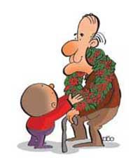 پدربزرگ و مادر بزرگ ,نگهداری از پدر و مادر,سالمندان