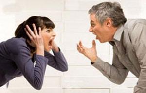 دعوا بین همسران,دعواهای میان زن و شوهر,شخصیت همسر