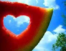 تاثیر قاچ هندوانه در زناشویی