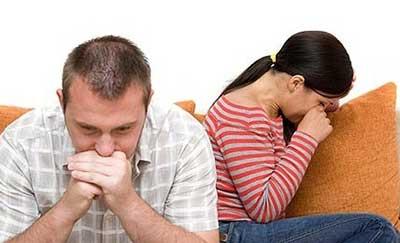 نارضایتی در زندگی زناشویی به دلایل زیر است