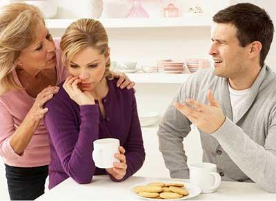 مدیریت رابطه با خانواده همسر آینده